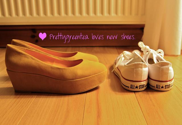 prettygreentea loves new shoes
