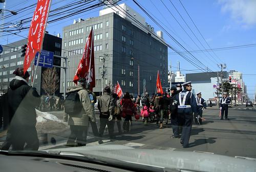 3.11 movements against nuclear power plants.