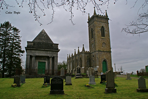 St Bigseach's Church, Kilbixy Parish, County Westmeath (1798)