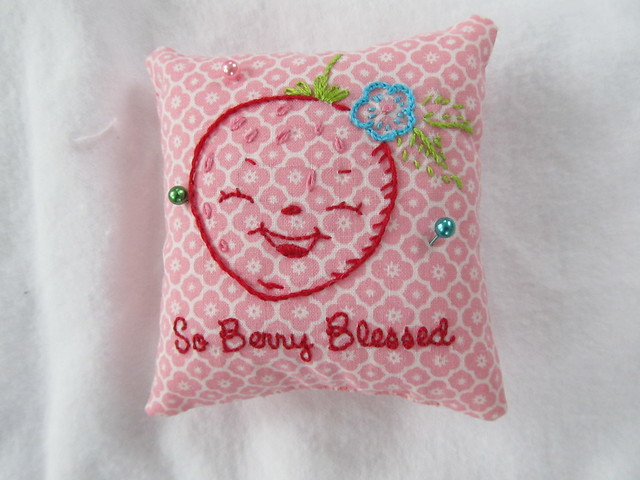 Pincushion from Poppy