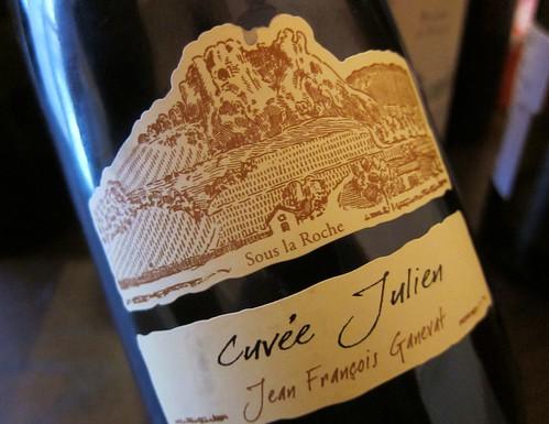 2010 Pinot Noir Ganevat