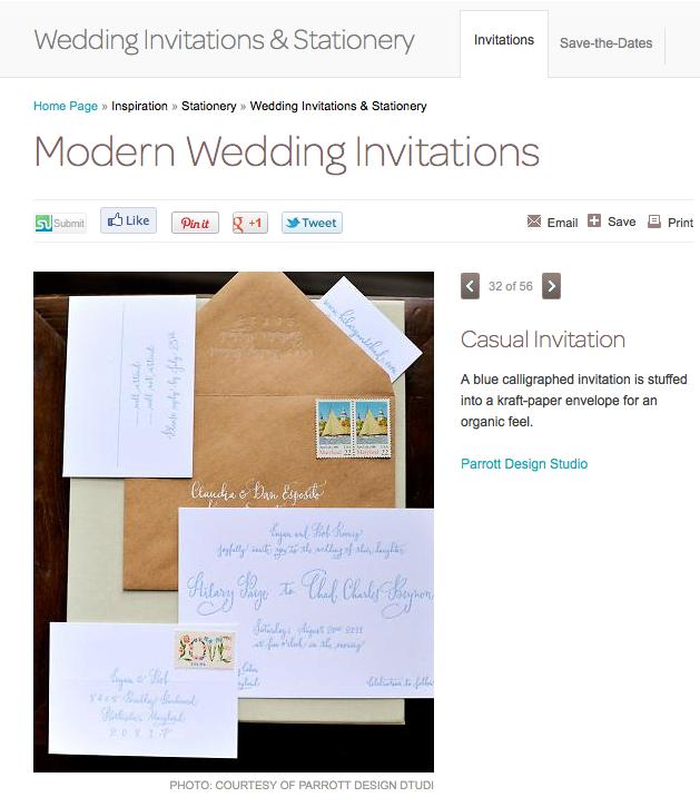 Martha Stewart Weddings online