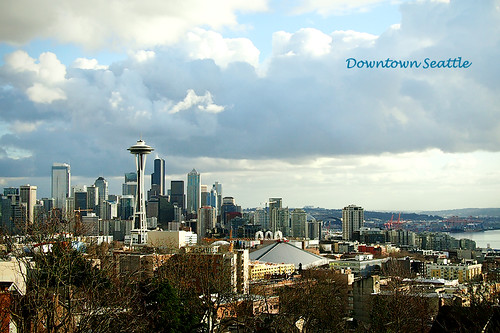Seattle Skyline (Explored)