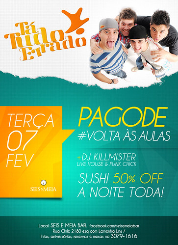 Flyer Volta as Aulas by chambe.com.br