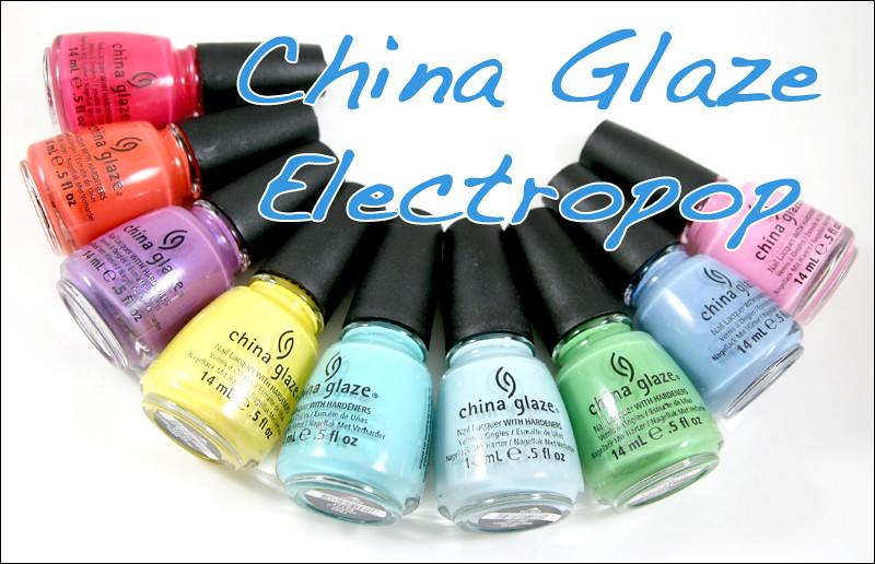 china glaze electropop
