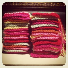 And then there were 40. #grannysquares #crochet