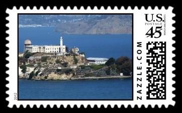 SF Alcatraz Island Postage
