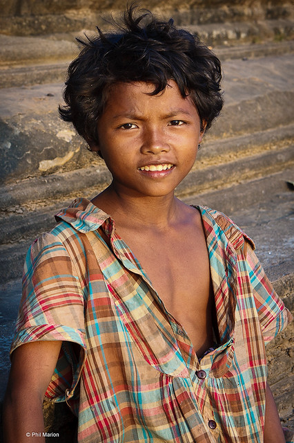 Young Cambodian