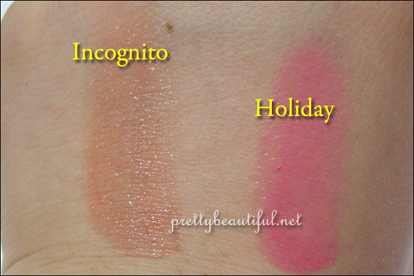 Dior Addict Extreme Lipstick - Inconigto & Holiday Swatch