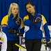 Napanee, ON Feb 11 2011 M&M Canadian Juniors Team  Alberta, Skip Jocelyn Peterman,with Third Brittany Tran Michael Burns Photo Ltd.