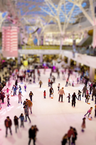 Tilt-shift London Westfields