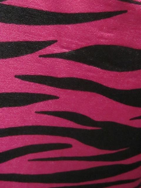 Pink Zebra Print Room Decor