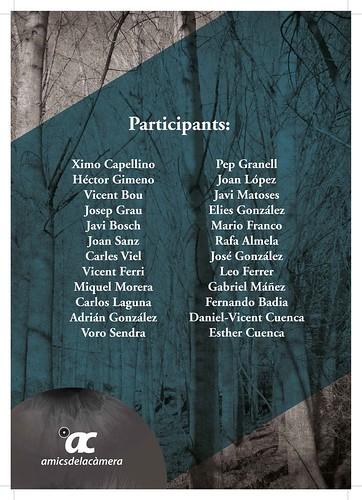 """2a. Mostra fotogràfica """"Visions Personals"""" (participants)"""