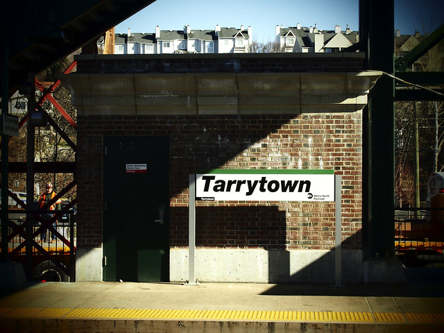 Tarrytown Metro North MTA Station