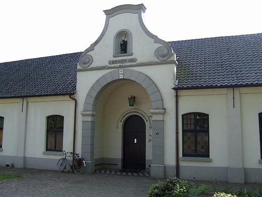 building of Abbey in Achel