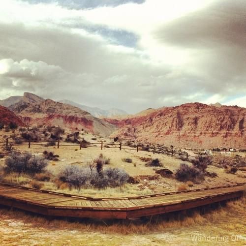 Calico Basin, Las Vegas.
