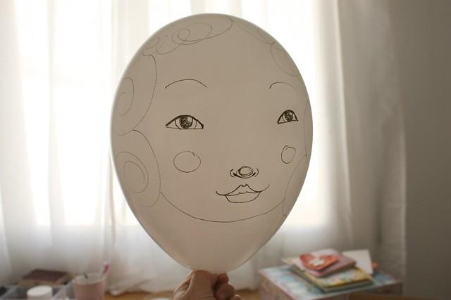 el globo nena