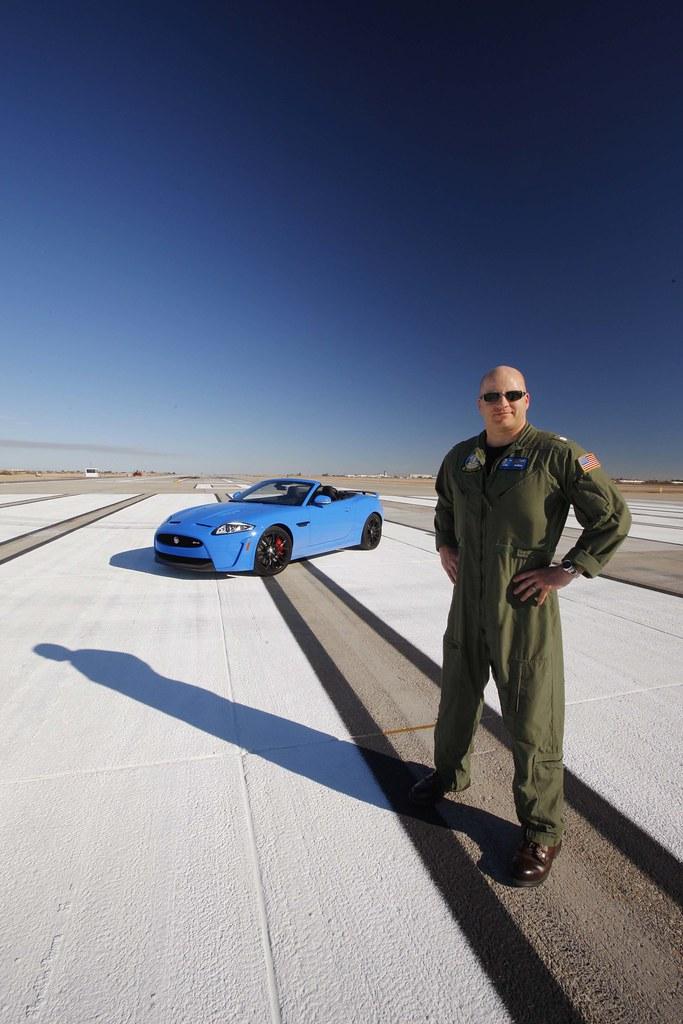 2012 Jaguar XKR-S Speed Test at NAF