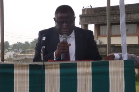 Allocution du Ministre au  lancement du projet « Volontariat estudiantin »