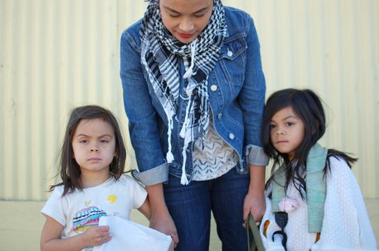 denim and my big girls