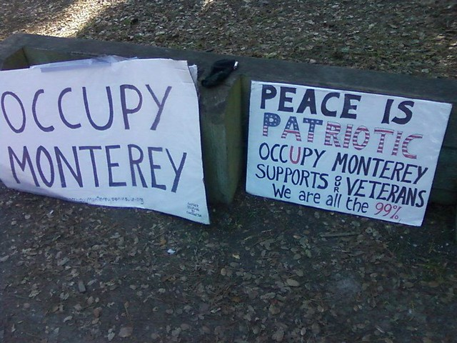 Occupy Monterey Pic 7 from Colin G