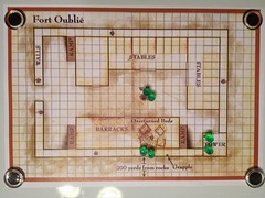 Fort Oublie Map