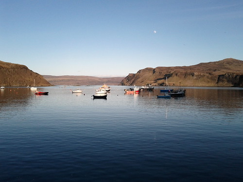 Portree harbour 2