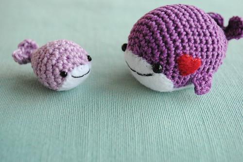 amigurumi whales