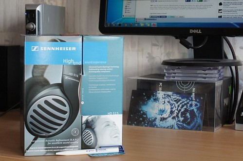 Sennheiser HD 515 atviro tipo ausinės dabar tik 185Lt!