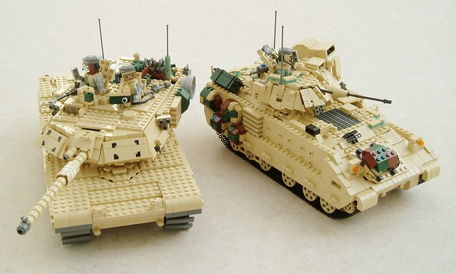 M1A1 Abrams and M2A2 Bradley (1)