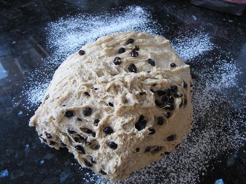 Spice bun dough