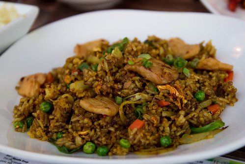Curry Fried Rice at Smiling Banana Leaf