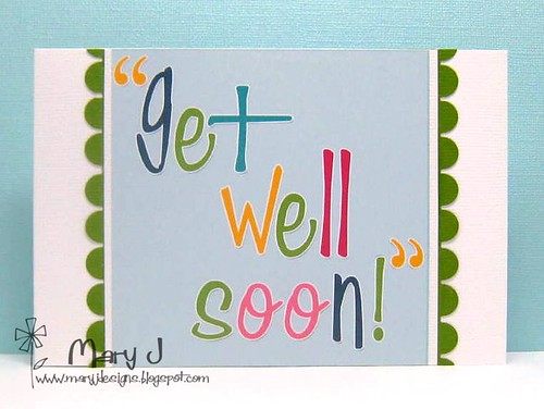 CAS get well soon card