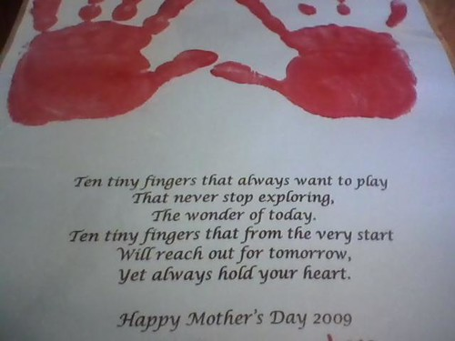 Mothers Day Project from Troy 2009