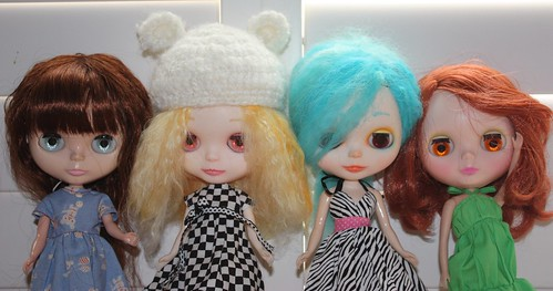 The Girls Together by Among the Dolls