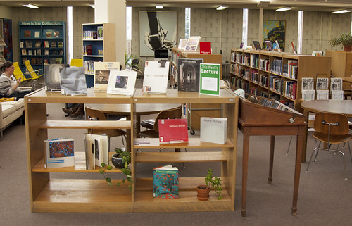 Library Display: James Casebere by MCAD Library