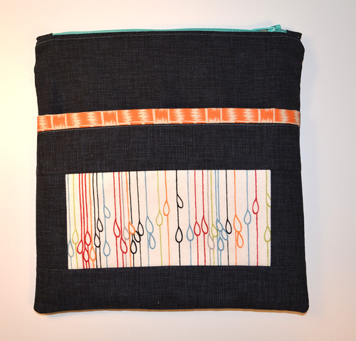 Mouthy Stitches zipper pouch - back