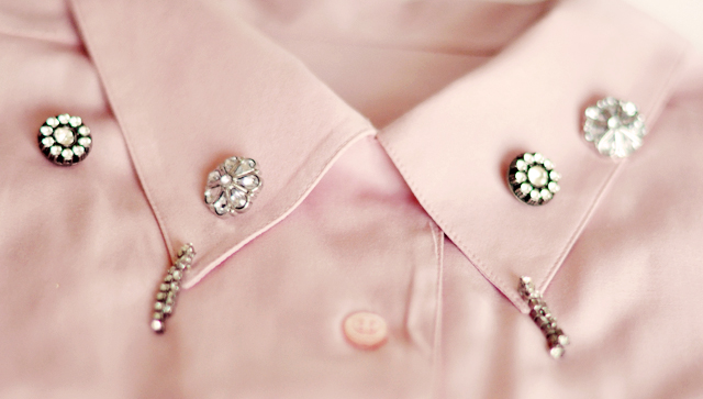 2 embellished collar diy -rhinestones-1