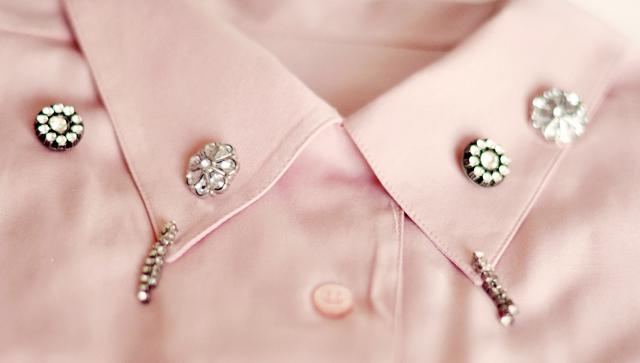 2 embellished collar diy -rhinestones-1