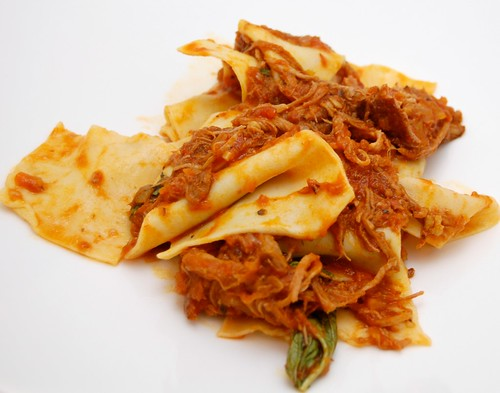 Pasta with Braised Pork Shoulder Ragu
