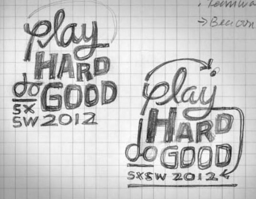 Play Hard Do Good: First Sketches