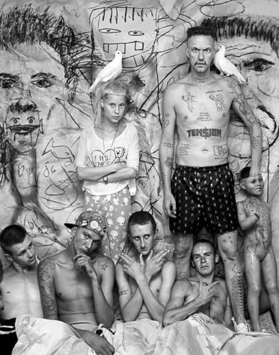 DIE ANTWOORD at Fifty24SF Gallery