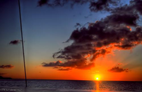 sunset caribbean stlucia hdr caribbeanislands nikond5000