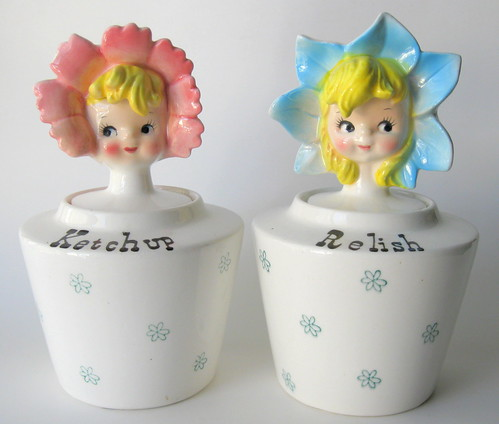 Ketchup & Relish Jars by pixie♥pie