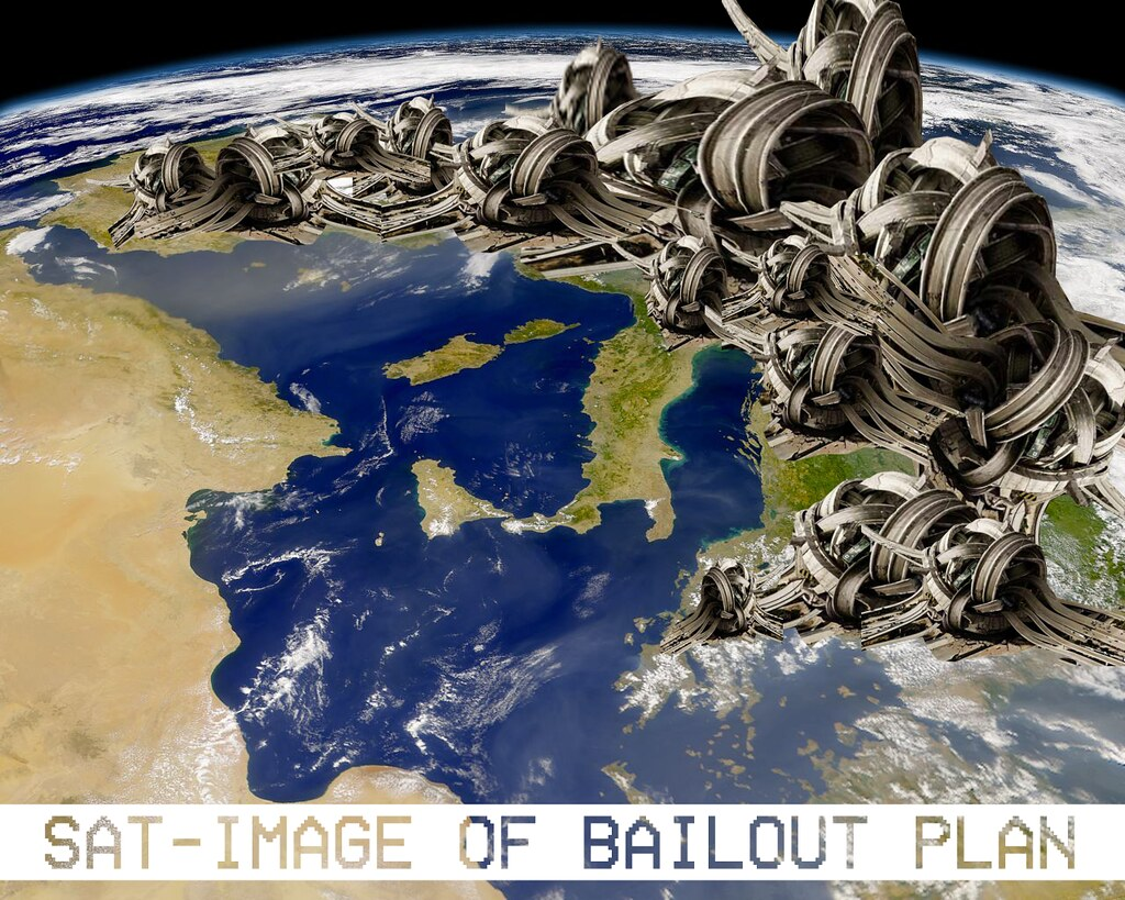 SATELLITE IMAGE OF EURO BAILOUT PLAN