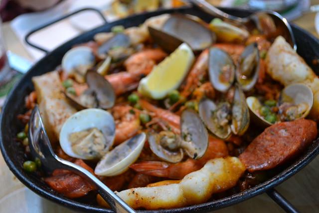 Paella Valenciana, Loco Spanish Tapas Bar