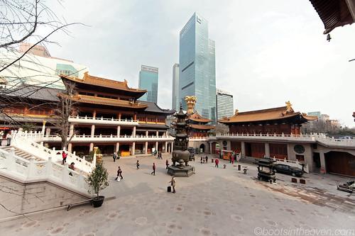 Jing'an's courtyard