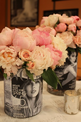 Peonies in Vogue