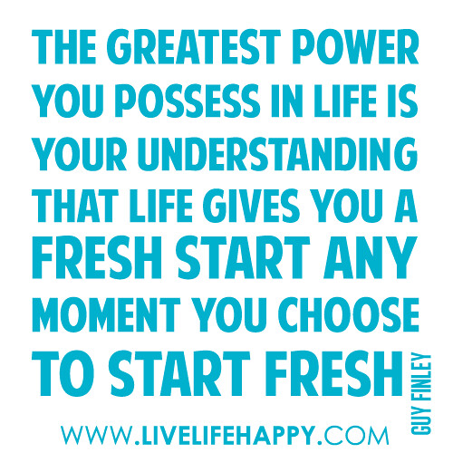 """""""The Greatest Power You Possess In Life Is Your"""
