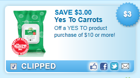 Yes To Product Purchase Of $10 Or More! Coupon